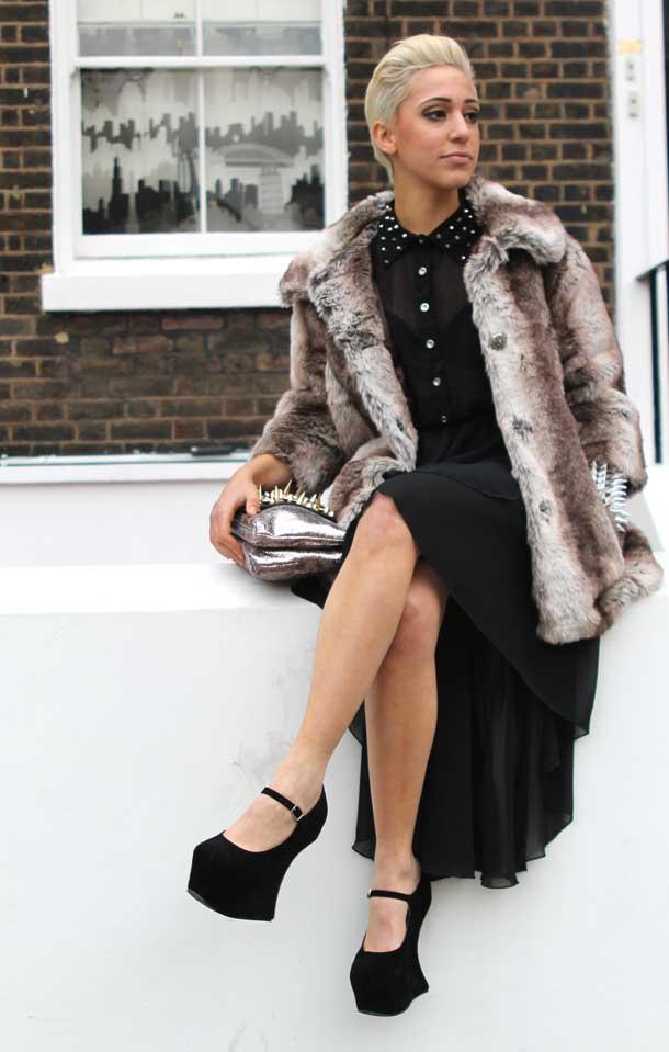 Marmalade Boutique Style Black Dress
