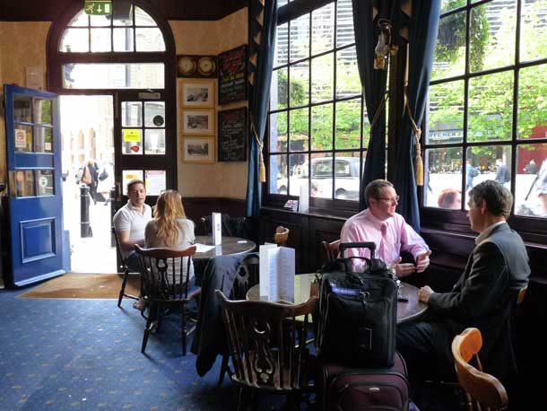 Shipwrights Arms Classic Pub London