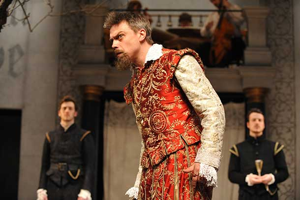James Garnon at Shakespeare's Globe