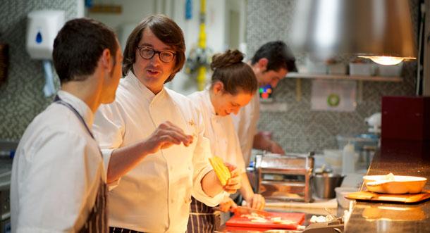Jordi Villa Bermondsey Square Hotel Chef Greggs Bar and Gill