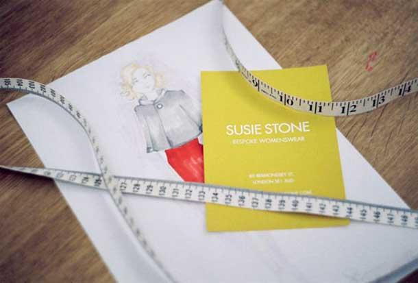 Susie Stone Bridal Wear Tape Measure