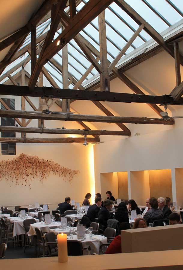 Baltic Restaurant Interior London