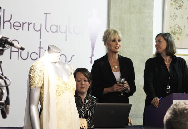Joanna Lumley Kerry Taylor Auction