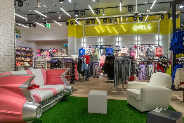 Liverpool Store Interior Tonik Retail