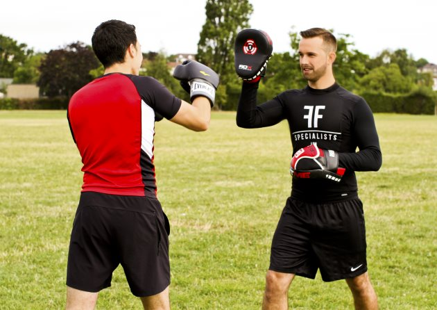 Fashion Fitness Specialists Personal Trainer Sparring Training London