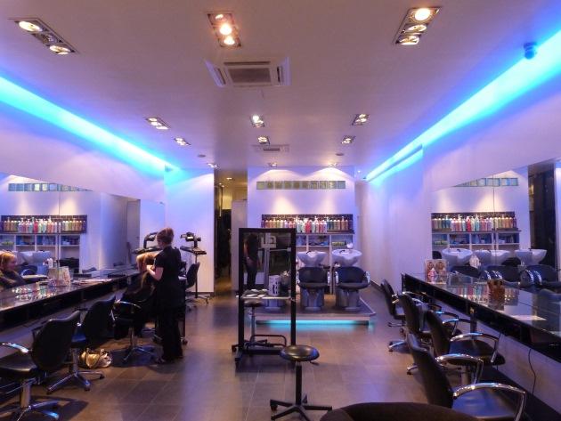 Lounge Hair Salon Jamaica Road London Bermondsey Interior Hairdressers