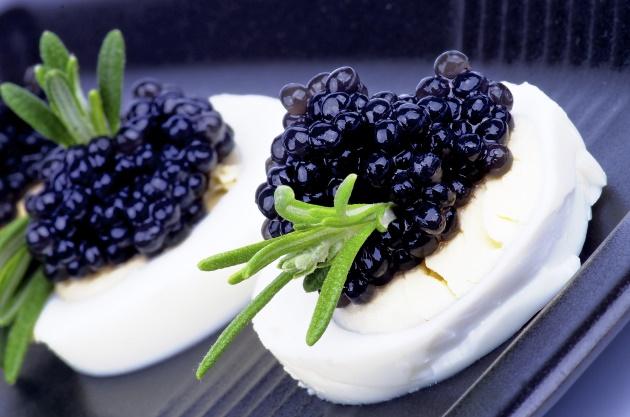Black Caviar Beluga Sturgeon Roe Delicacy