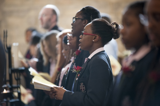 St Saviour's St Olave's School Commemoration Service  Southwark Cathedral