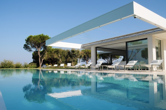 St Tropez Blue Coast Cote D'Azur Dream Home Swimming Pool Poolside
