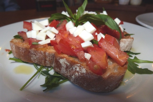 Bruschetta Studio 6 London Southbank Mediterranean Food Tomatoes Bread