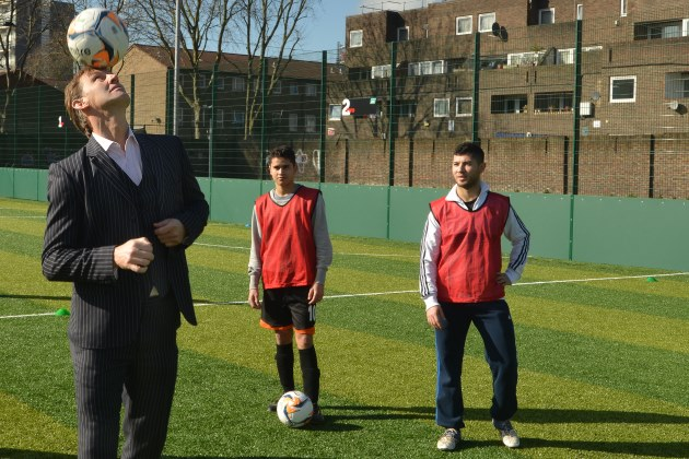 Sport London Football powerleague vauxhall tony adams pitch grand opening