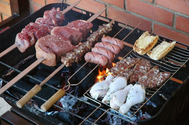 BBQ steak meat summer grill churrasco