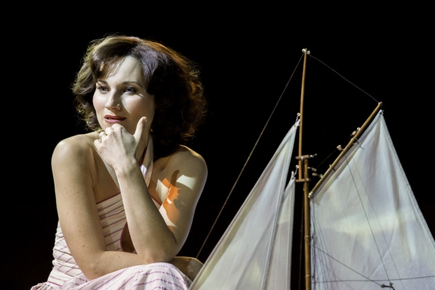 High Society Old Vic Theatre London Kate Fleetwood Boat