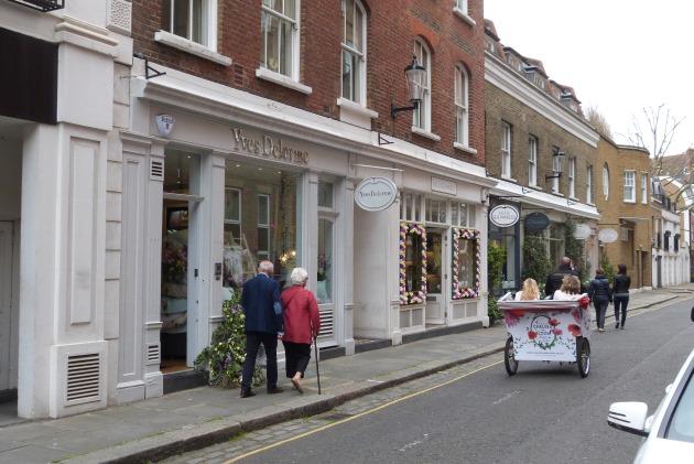 Sloane Square retail Ellis Street shops rickshaw