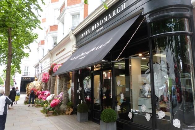 Sloane Square retail anya hindmarch