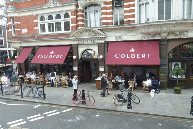 Sloane Square retail french cafe colbert