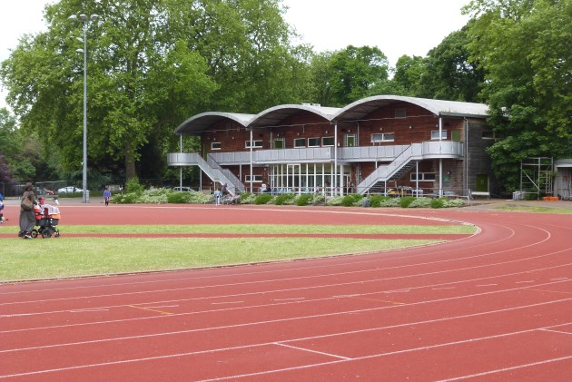 millennium arena sports facility battersea park running track pavillion