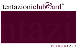 Tentazioni london club card points privilege offer