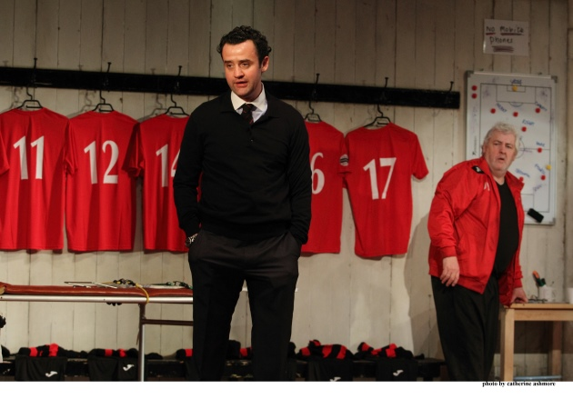 Daniel Mays Red Lion London National Theatre On Stage Changing Room