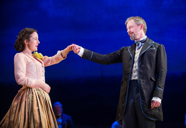 Three Days in the Country John Simm National Theatre On Stage Performing Marber Turgenev