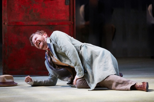 Three Days in the Country John Simm National Theatre On Stage Performing Marber Turgenev Mark Gatiss Shpigelsky