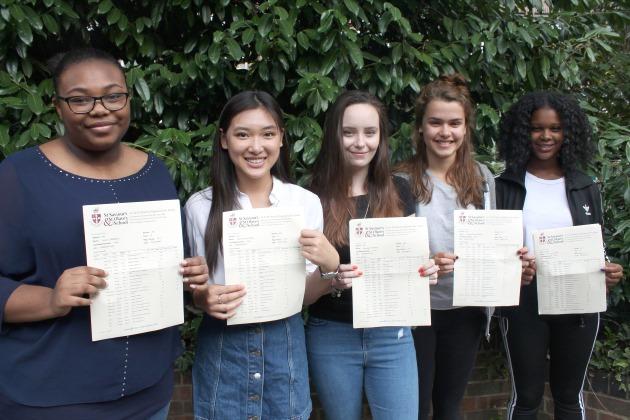 Saint Saviours Saint Olaves Girls School Students Results