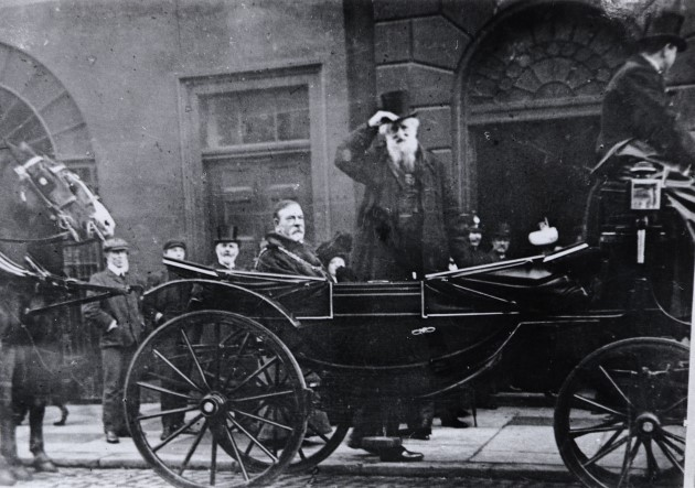 salvation army old photograph cart london