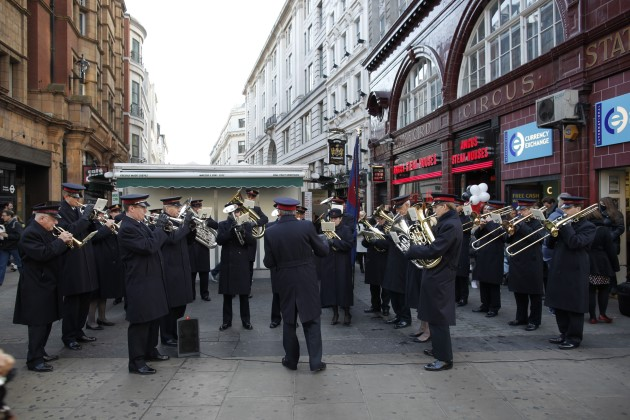 salvation army band london christmas