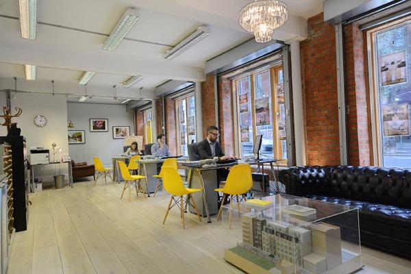 The offices of Garrett Whitelock on Tower Bridge Road