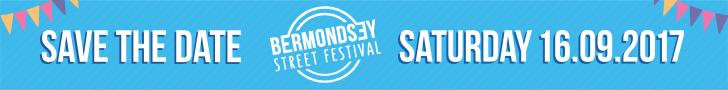 SAVE THE DATE Bermondsey Street Festival SATURDAY 16.09.2017